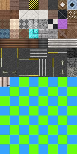 Bibliothèque des ressources VX Ace Tilesets Floor-10