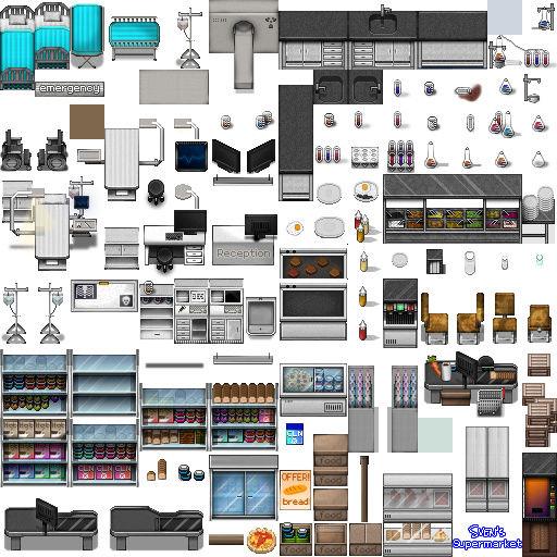 Bibliothèque des ressources VX Ace Tilesets Shop-a10