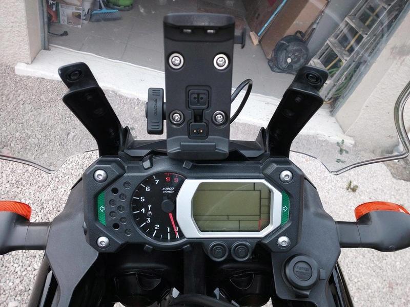 Support GPS sur compteur pour xtz de 2012 22015211