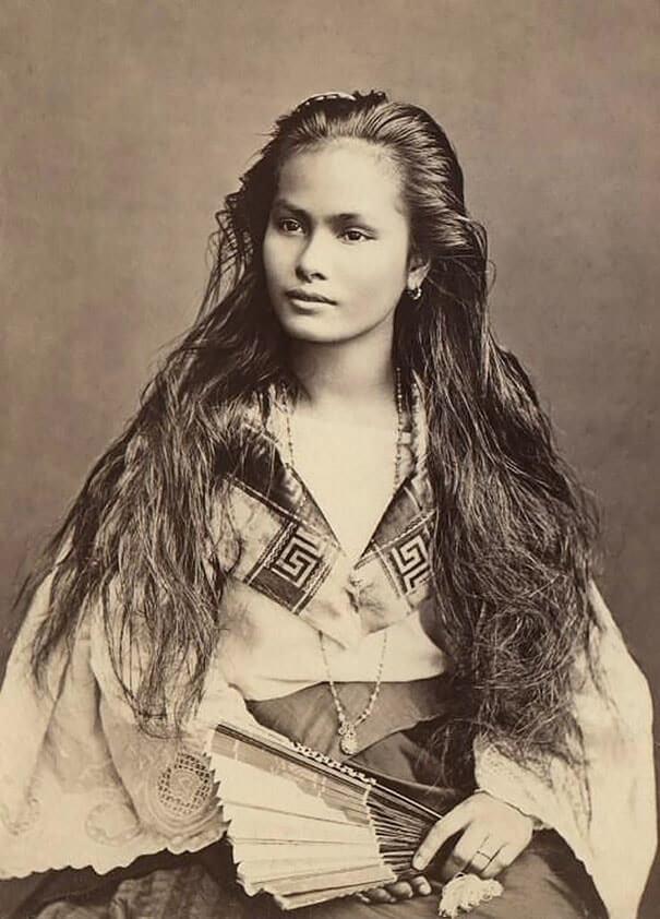 100-летние фотографии самых красивых женщин тех времен. Dazie_10