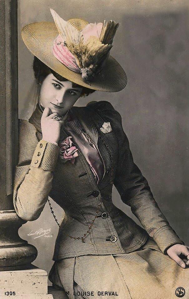 100-летние фотографии самых красивых женщин тех времен. Eae-da10