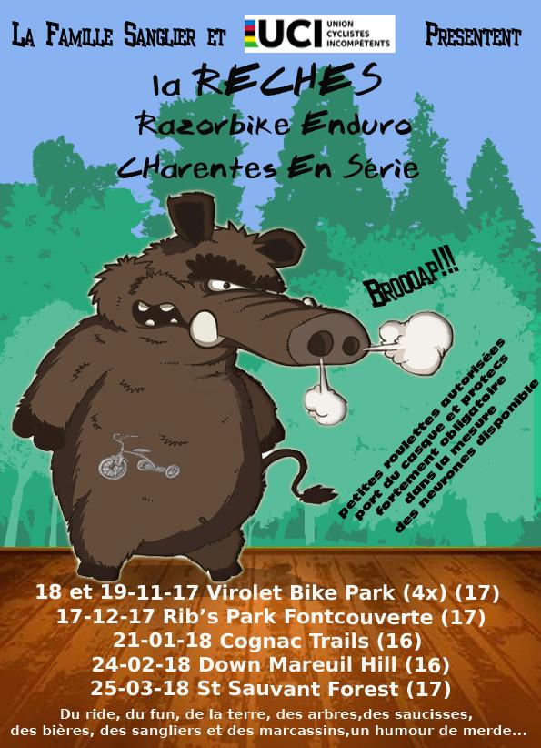 La RECHES 5éme manche St Sauvent Forest (17) - 25 Mars 2018 Sangli11
