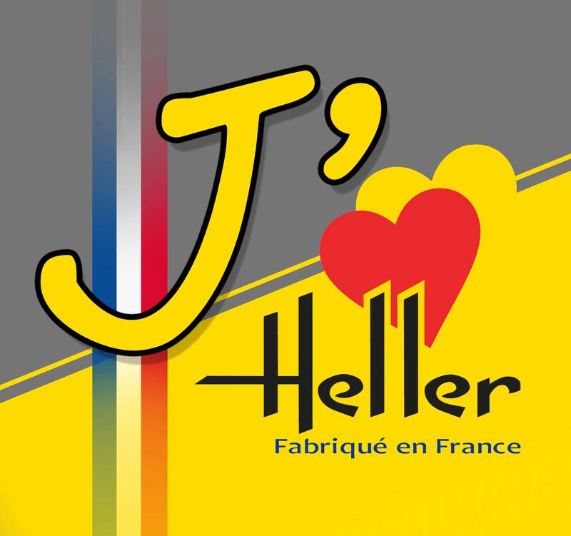 le logo de l'amour pour HELLER Logoja11