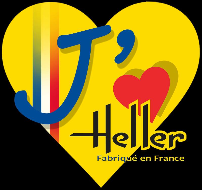 le logo de l'amour pour HELLER Logoja14