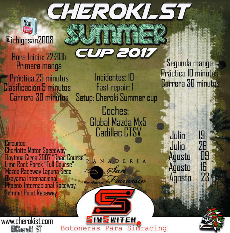 Presentamos la Cheroki Summer Cup Cherok11
