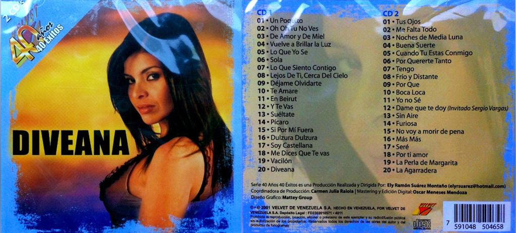 Diveana - Velvet 40 Años 40 Exitos (2Cds)(2001) Userscloud Divean10