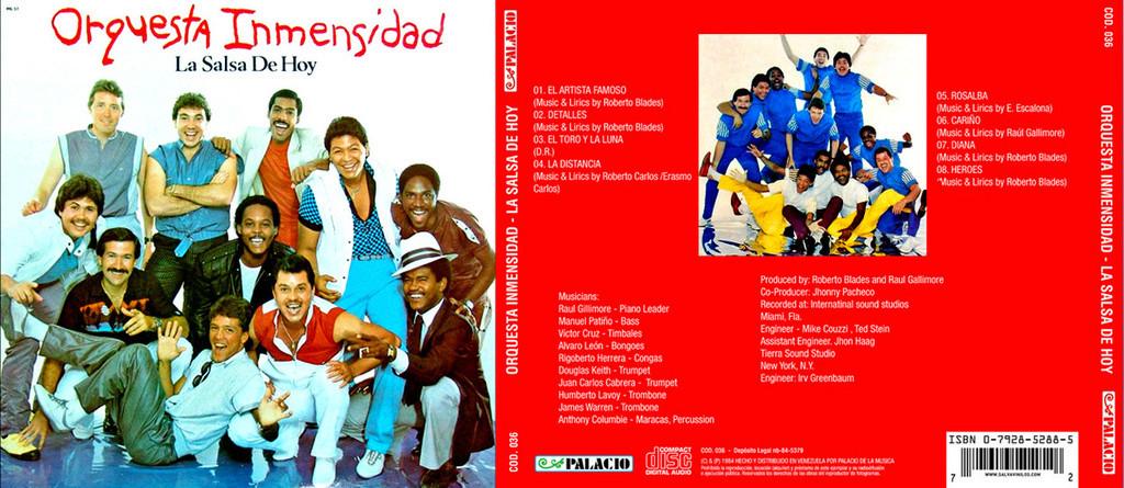Orquesta La Inmensidad - La Salsa de Hoy (1984) Userscloud Orques11