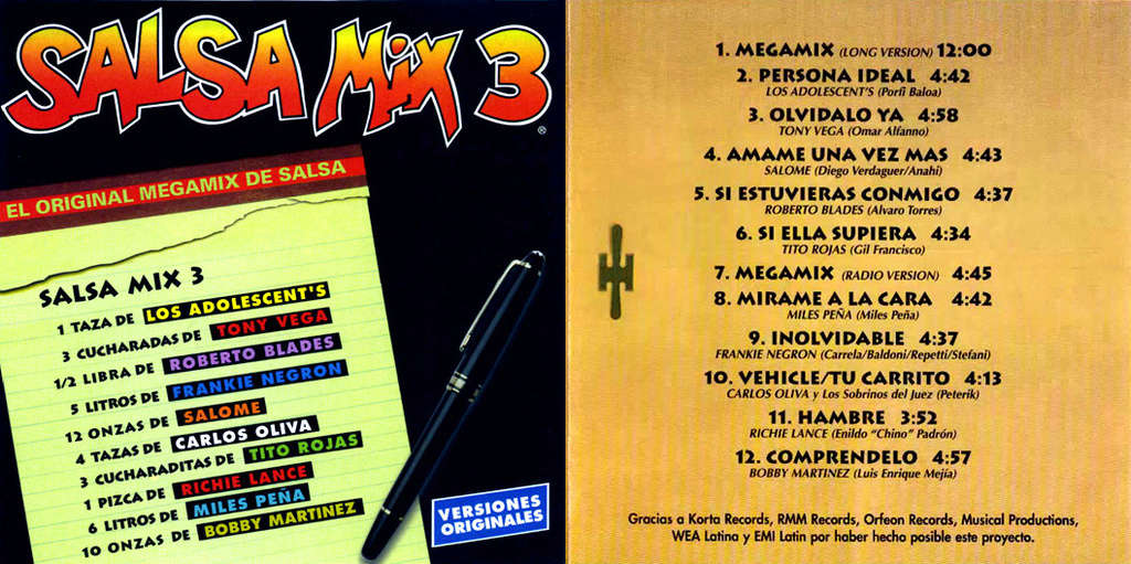 V.A. Salsa Mix 3 (1999) Userscloud Salsa_10