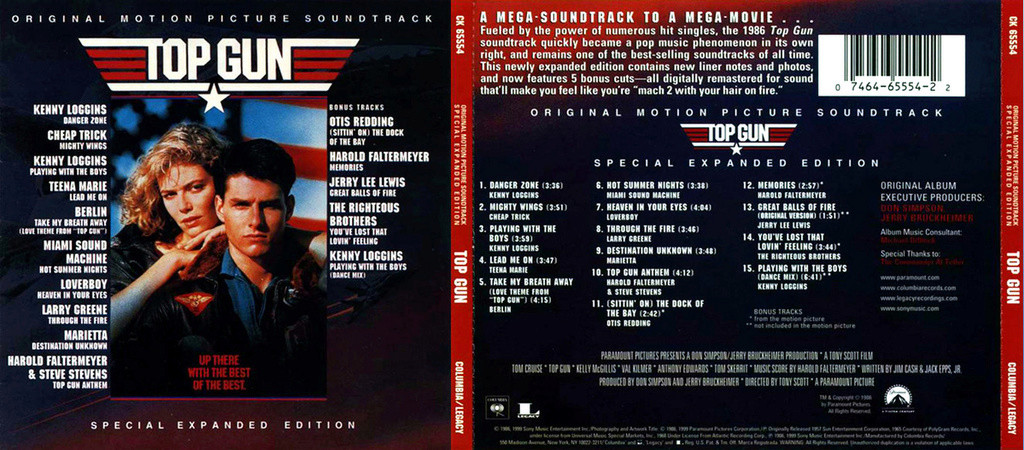 V.A. Top Gun (SoundTrack)(special Expanded Edition)(1986) Userscloud V_a_to10