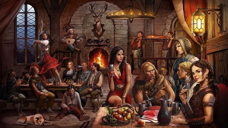 Rumeur dans une taverne à Abondance Tavern10