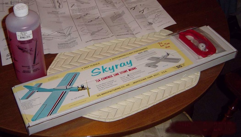 Ordered a 1/2A Skyray kit Dsc00913