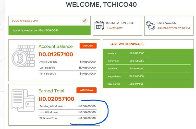 1 Bitcoin Offert Gratuitement à votre inscription ! Très simple. Bitcol10