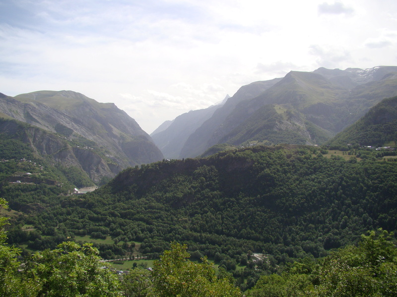 les routes du  vertige dans l'Oisans Dsc08418