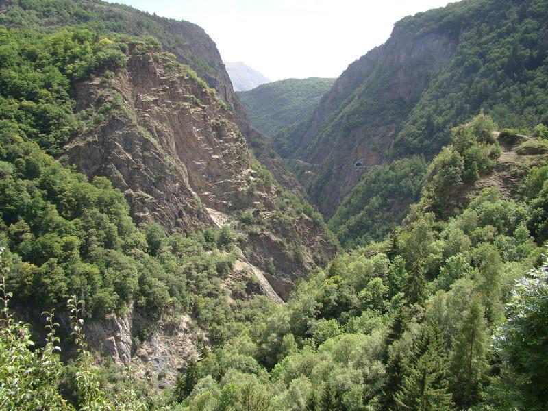 les routes du  vertige dans l'Oisans Dsc08419