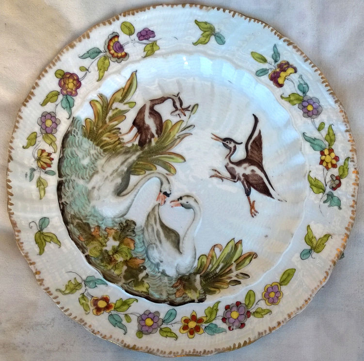 Help ID dish with embossed animals Front210