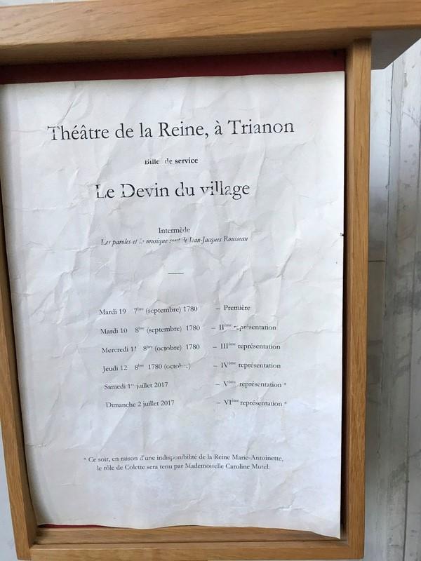 Le Devin du Village, de Jean-Jacques Rousseau, Théâtre de la reine au Petit Trianon Img_1311