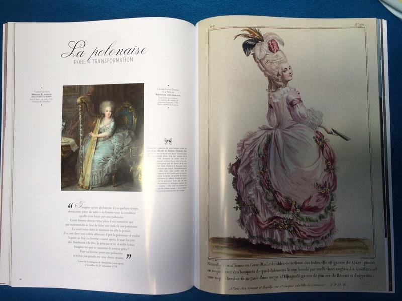 La Mode à la Cour de Marie-Antoinette, de Juliette Trey Img_4310
