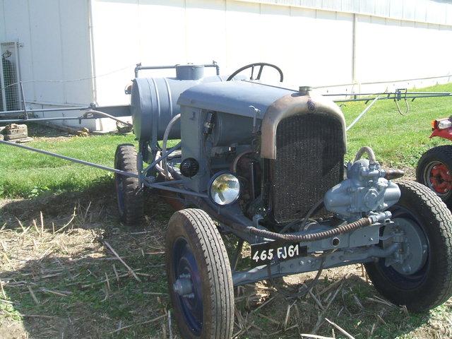 tracteurs agricoles artisanaux sur base CITROËN 1041