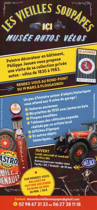 """Musée autos """"les vieilles soupapes"""" à Plougasnou (Finistère) 1045"""