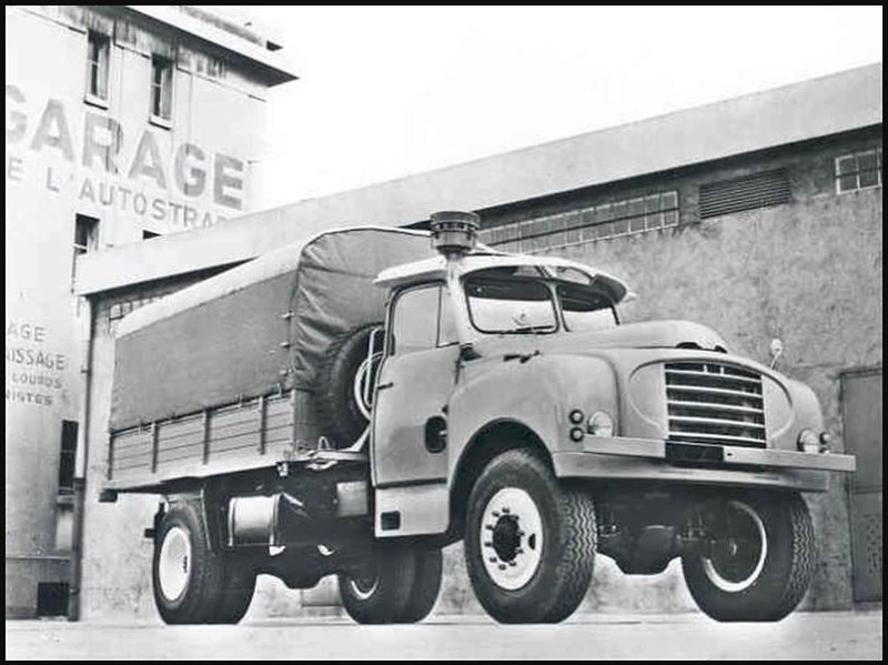 le camion CITROËN T-16....pour le désert 11126