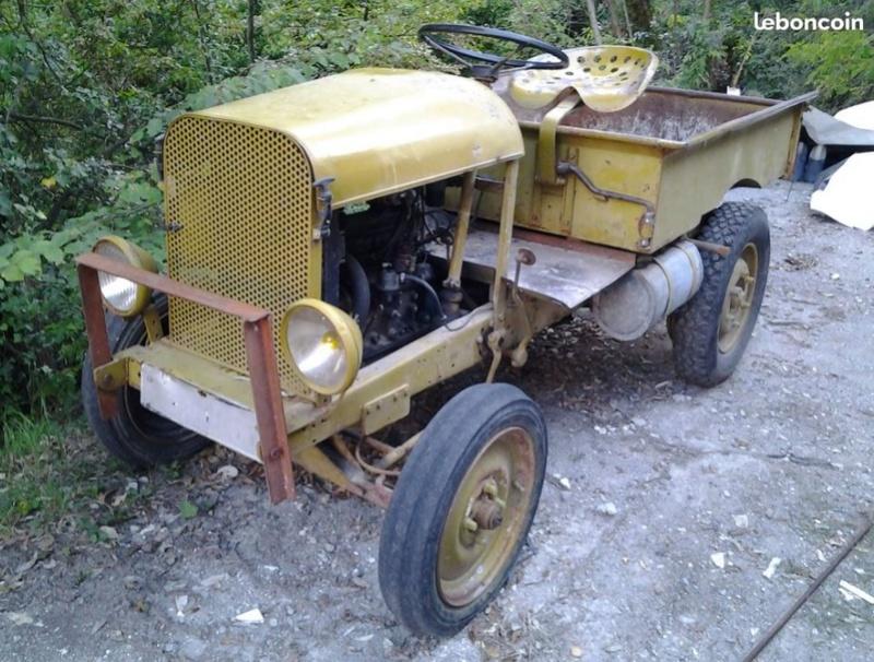 tracteurs agricoles artisanaux sur base CITROËN 1177