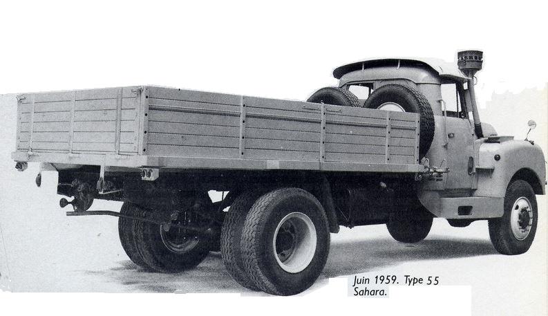 le camion CITROËN T-16....pour le désert 12109