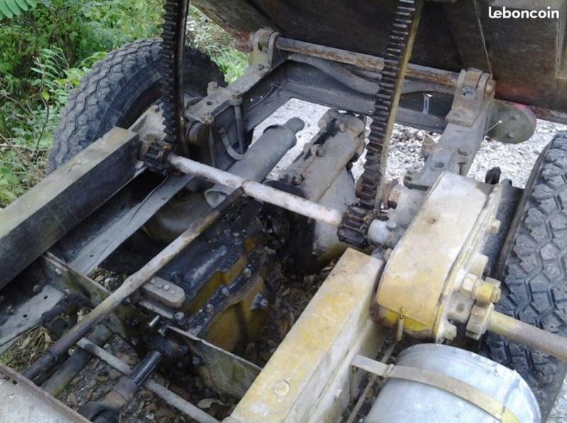tracteurs agricoles artisanaux sur base CITROËN 1224