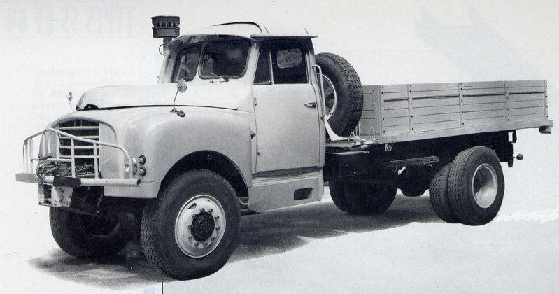 le camion CITROËN T-16....pour le désert 13106