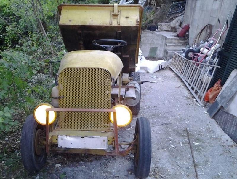 tracteurs agricoles artisanaux sur base CITROËN 1322