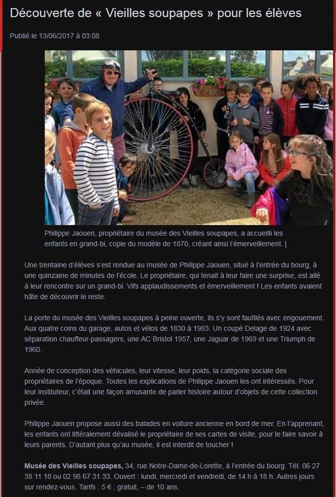 """Musée autos """"les vieilles soupapes"""" à Plougasnou (Finistère) 1353"""