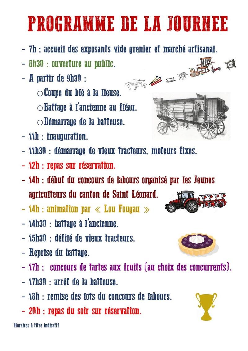 87 - St Martin - Terressus : Fête de la batteuse le 6 Août 2017 2017-b11