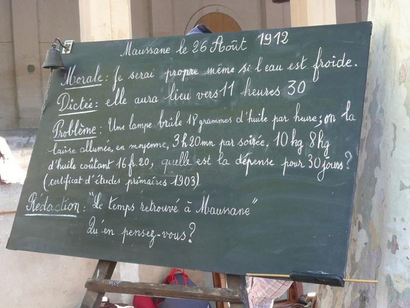13 - Maussane les Alpilles : Fête du Temps Retrouvé le 27 Août 2017 3130