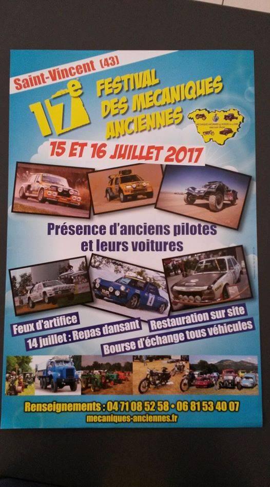 43 St VINCENT : 17ème Festival (Haute-Loire) Juillet 2017 322