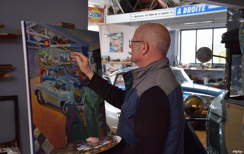 """Musée autos """"les vieilles soupapes"""" à Plougasnou (Finistère) 4142"""
