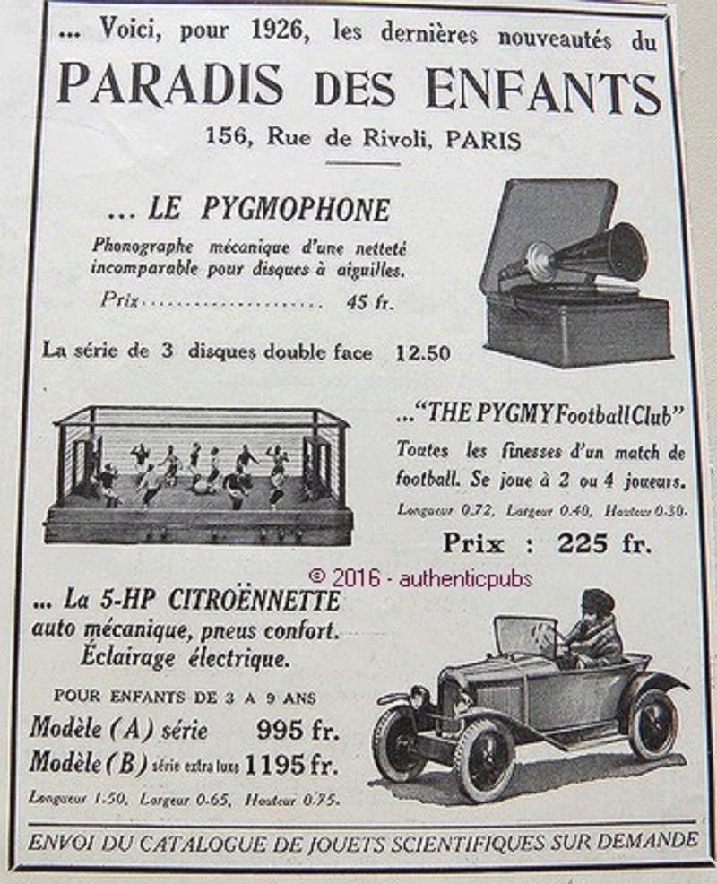 La CITROËNNETTE de 1925 428