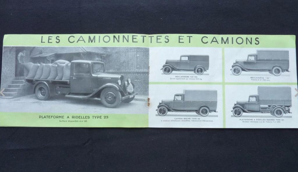 """Brochure """"Utilitaires Citroën"""" 1937 537"""