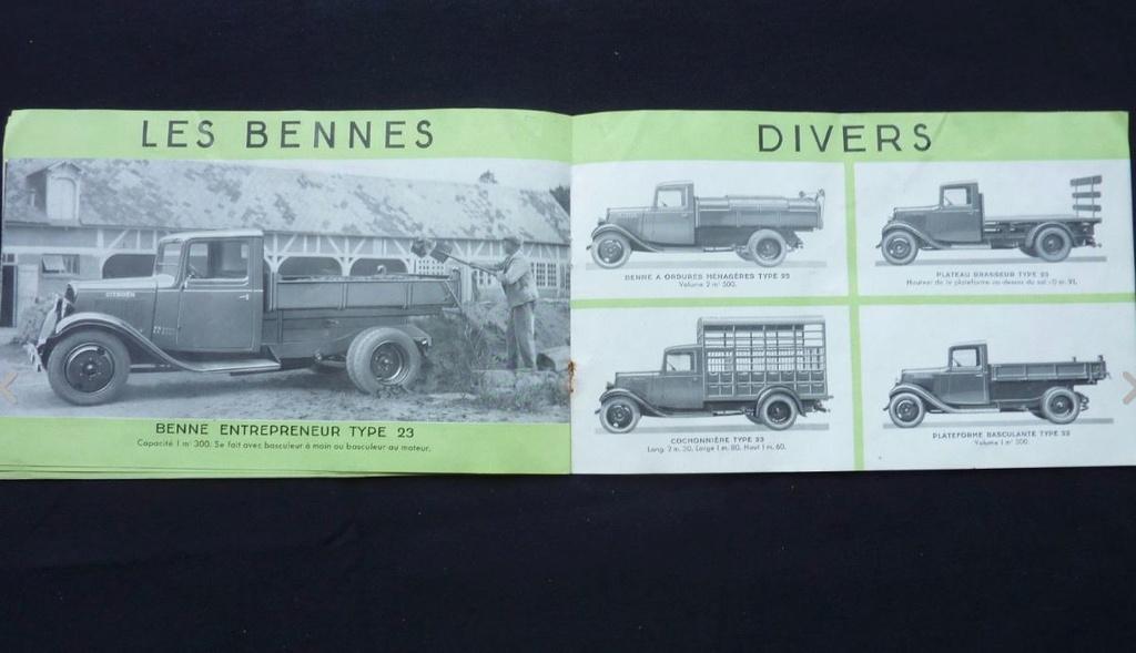 """Brochure """"Utilitaires Citroën"""" 1937 633"""