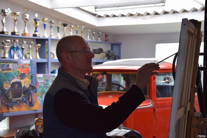 """Musée autos """"les vieilles soupapes"""" à Plougasnou (Finistère) 691"""