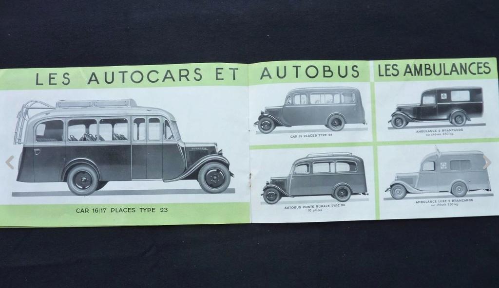 """Brochure """"Utilitaires Citroën"""" 1937 728"""