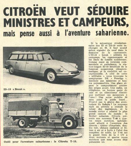 le camion CITROËN T-16....pour le désert Captur21