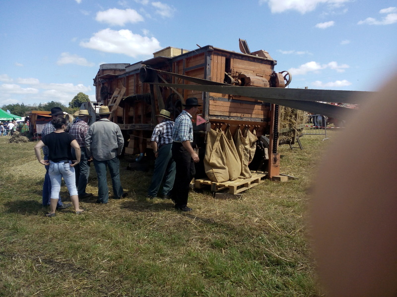 87 - St Martin - Terressus : Fête de la batteuse le 6 Août 2017 Limog103