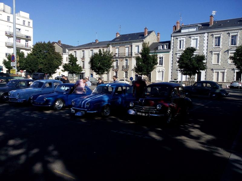87 - Limoges : rassemblement d'anciennes place Marceau le 6 Août 2017 Limoge36