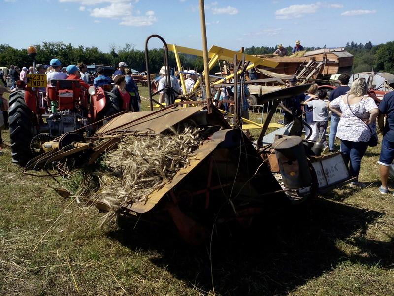 87 - St Martin - Terressus : Fête de la batteuse le 6 Août 2017 Limoge56