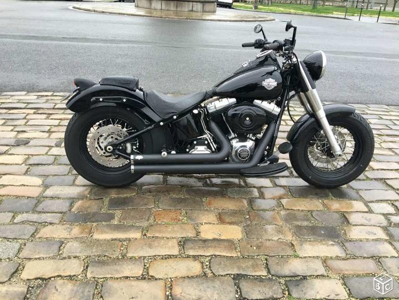 Vds Softail Slim Vivid Black 2012(VENDU) 20af5710