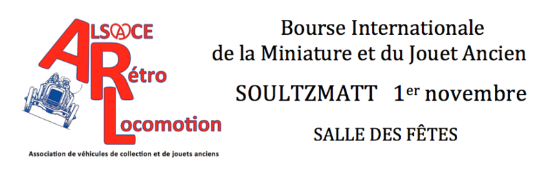 2ème Bourse Internationale de la Miniature et du Jouet Ancien. Bander10