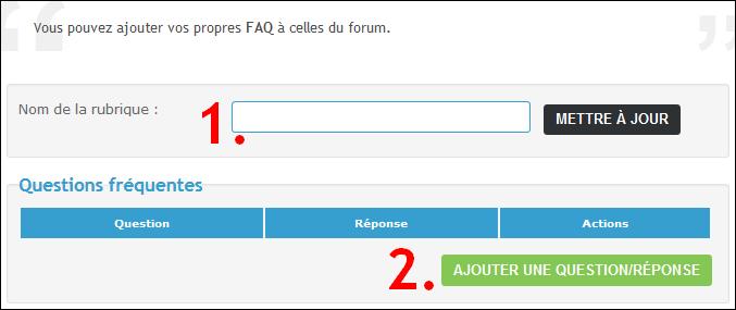 Completare le FAQ del tuo forum Tuto119