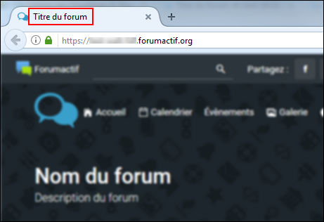 Titre et nom du forum Tuto4-12