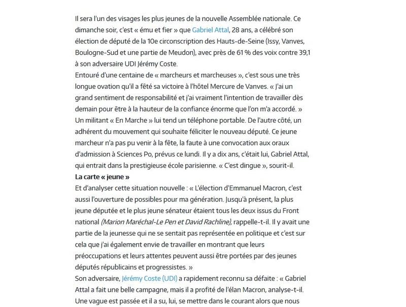 Elections législatives à Boulogne-Billancourt  Clipb126