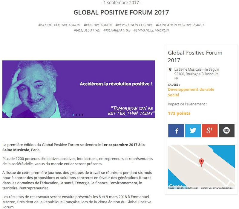 Global Positive Forum Clipb196