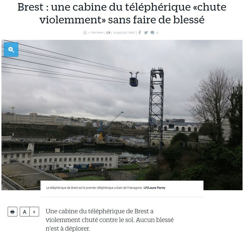 Téléphérique Boulogne-Billancourt (Pont de Sèvres) - Vélizy Clipb229